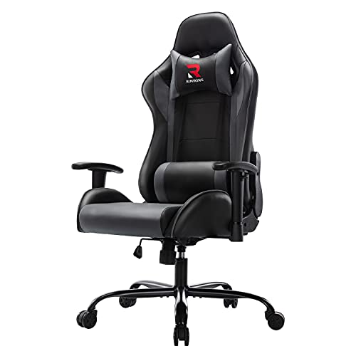 RIMIKING Massage Gaming Chair Office Chair Ergonomic PC Computer Chair...*