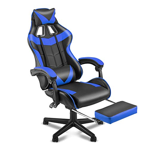 Soontrans Gaming Chair with Footrest,Gaming Computer Chair, Office...*
