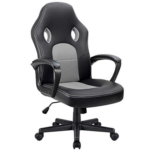 Furmax Office Chair Desk Leather Gaming Chair, High Back Ergonomic...*