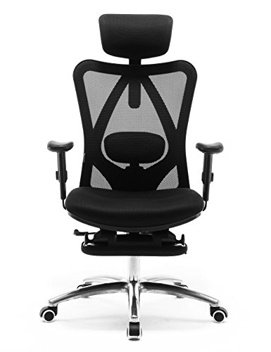 SIHOO Ergonomic Office Chair with Footrest, Recliner Computer Desk...*